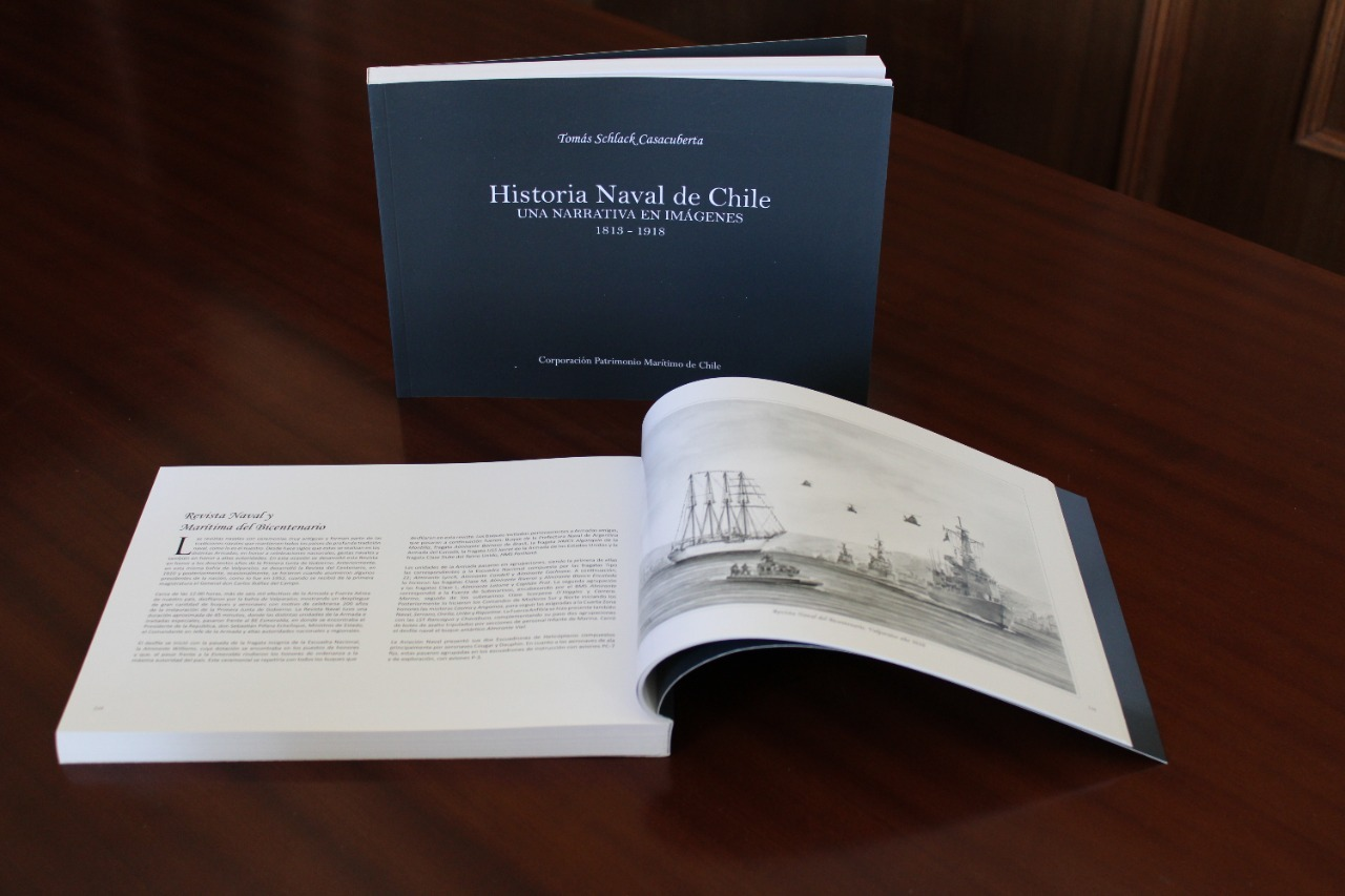 Historia Naval de Chile. Una Narrativa en Impagenes
